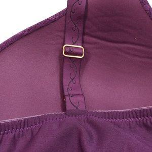 Glamorise Intimates & Sleepwear - Glamorise Women's Push-Up T-Shirt Bra Purple - 54A